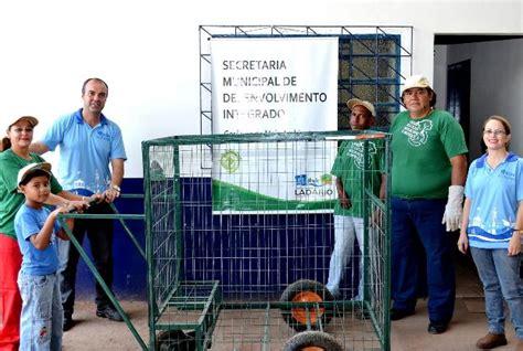 montare ladario p 233 rola news lad 225 coletores de recicl 225 veis recebem