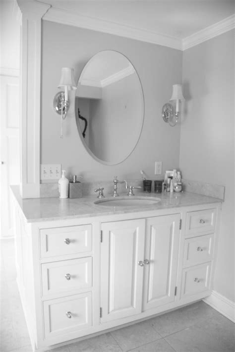 White Vanity Mirror For Bathroom by Lowes Bathroom Vanities White Bathroom Vanity Oval Mirror