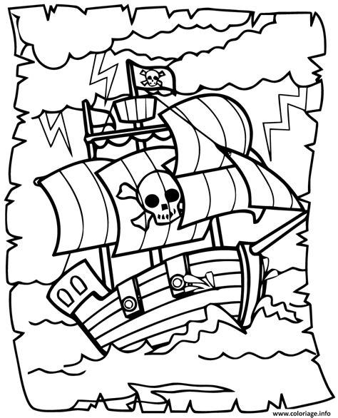 dessin bateau pirate imprimer coloriage bateau de pirates jecolorie