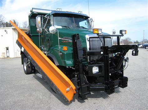 plow spreader trucks  sale