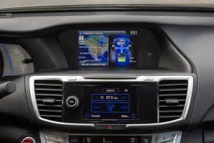 Honda Accord Dashboard 2014 Honda Accord Hybrid Review The Car Connection