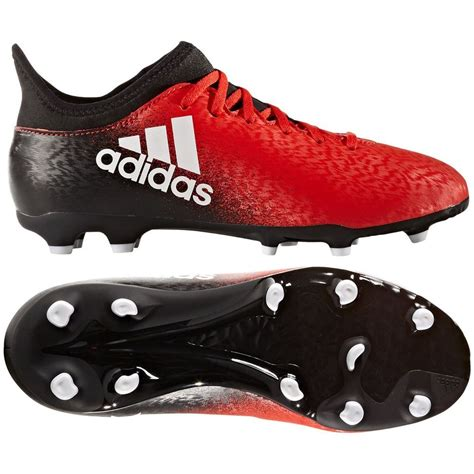 football shoes youth adidas x 16 3 fg 2016 soccer shoes cleats black
