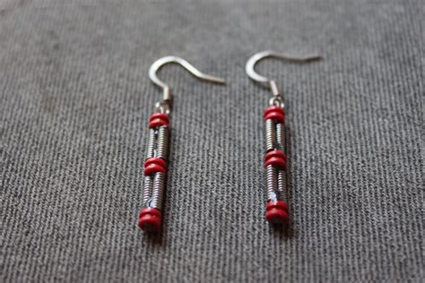how to make jewelry out of guitar strings guitar string earrings and jewelry