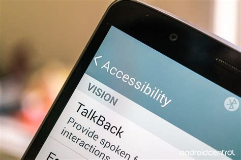 accessibility features   lg  android central
