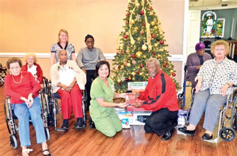 christmas nursing home williams continues to lead albemarle s outreach to nursing home residents