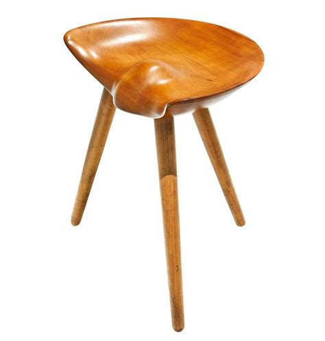 A Three Legged Stool by Three Legged Stool By Mogens Lassen At 1stdibs