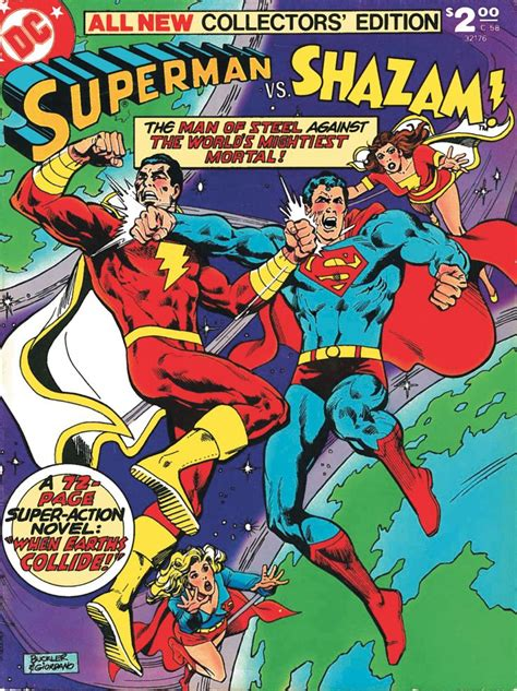 superman vs captain marvel shazam the big red cheese versus the big blue gouda guy historic