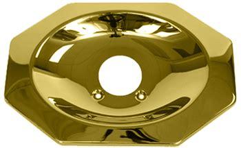 price pfister polished brass tub  shower escutcheon plate  pb