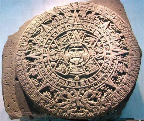 Calendario Solar Azteca La Piedra Sol Calendario Azteca