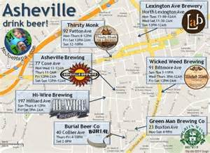 carolina brewery map 15 maps of carolina