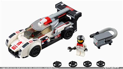 Lego Audi by Lego Rolls Out Two Audi Racers For Enthusiasts