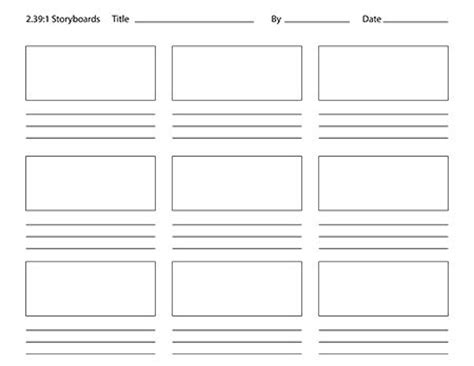 photoshop storyboard templates paper crafting