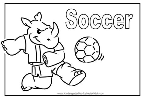 soccer color pages az coloring pages