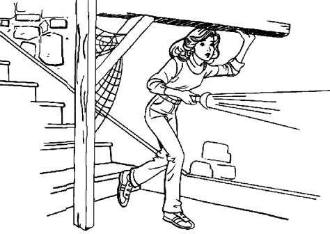 nancydrew free colouring pages