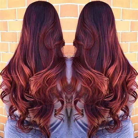 amazing dark red hair color ideas red hair  deep