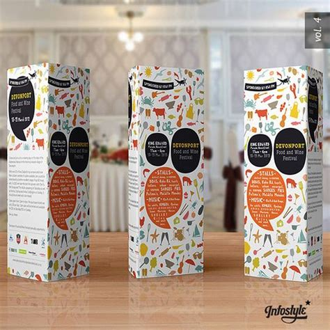 tri fold table tent paper tri fold brochure table tent packaging design d