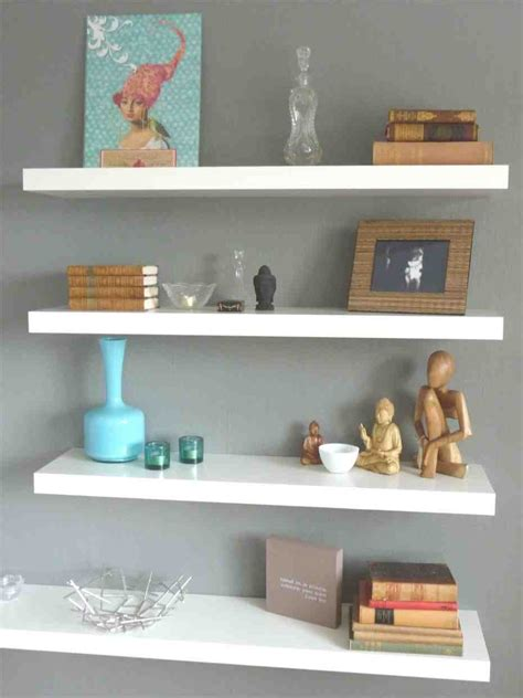 decorating with floating shelves image gallery shelf decorations