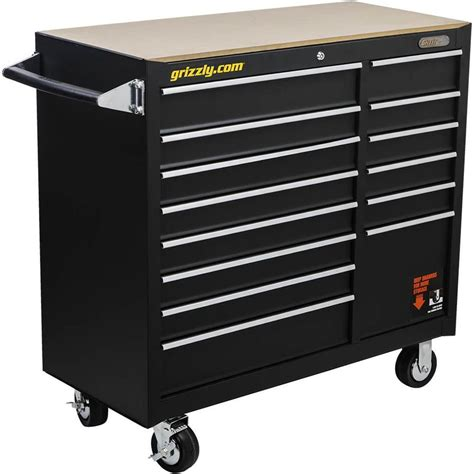 2 drawer tool cabinet t26902 grizzly 14 drawer tool chest 40 1 2 quot wide