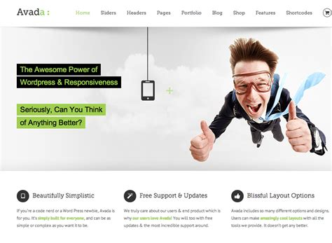 avada theme font awesome top 5 popular wordpress themes released in 2014 model theme
