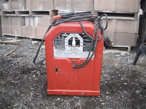 lincoln electric ac 225 stick welder lincoln electric ac 225 s ac arc welder lincoln