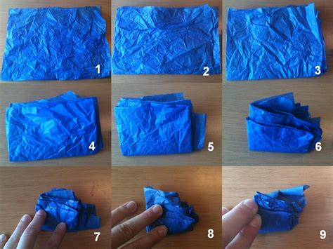 Folded Tissue Paper - physics buzz folding paper how can it be