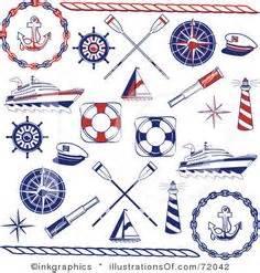 nautical designs free nautical clip illustrations cliparts