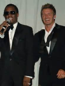 David And Beckham Try To With Diddy by P Diddy I M So Happy David Beckham S Another Child
