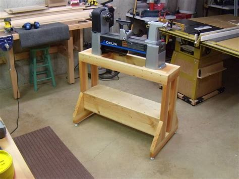 lathe stand plans  woodworking projects plans