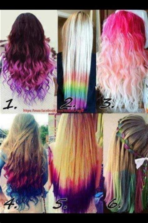 cute color hairstyles tumblr all these dyed hairstyles r cute my favorite hair style