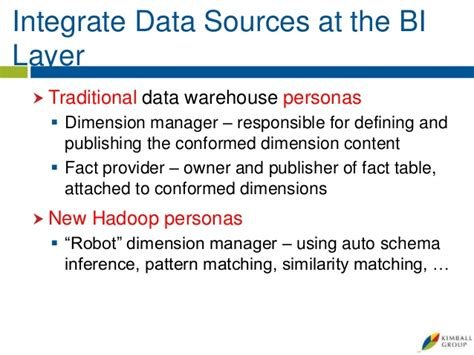 pattern matching hadoop best practices for the hadoop data warehouse edw 101 for