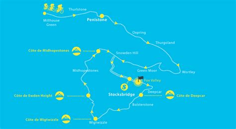 the 2017 tour de yorkshire see maps of the routes tyne tees itv visit penistone the tour de yorkshire 2017