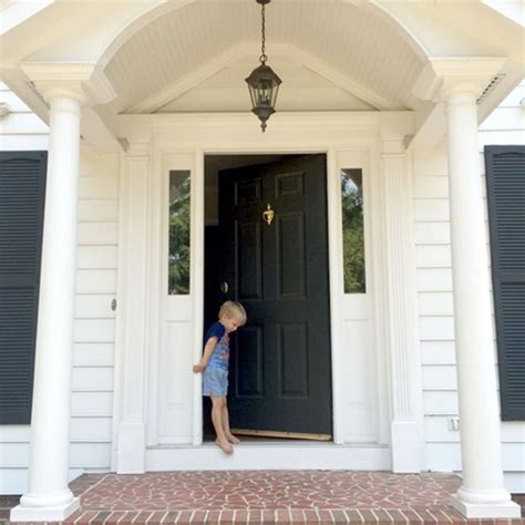 colonial front door designs updating our outdoor lighting emily a clark
