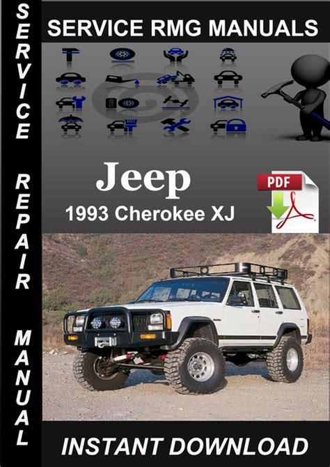 how to download repair manuals 1993 jeep cherokee electronic valve timing 1993 jeep cherokee xj service repair manual download download man