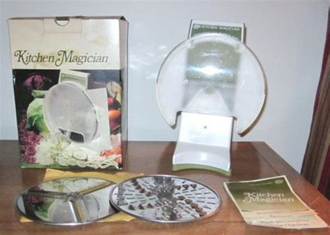 Kitchen Magician by Vintage 1970 Popeil Avocado Kitchen Magician Food