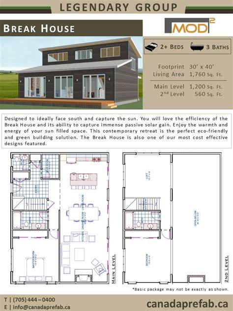 prefab home floor plans modern