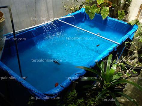 Terpal Plastik Karung kolam terpal plastik terang jaya