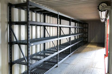 container shelving  racking ats containers