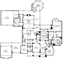 Country Home Floor Plans by 4 Bedroom 7 Bath Country House Plan Alp 08y9