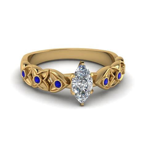 Wedding Rings Marquise Cut by Marquise Cut Engagement Rings Fascinating Diamonds