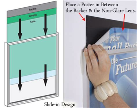 mounting posters without frames silver 24 x 36 poster frame holds portrait or landscape art