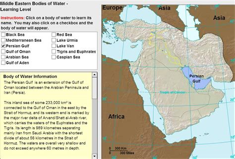 middle east map oceans interactive map of middle east oceans of middle east