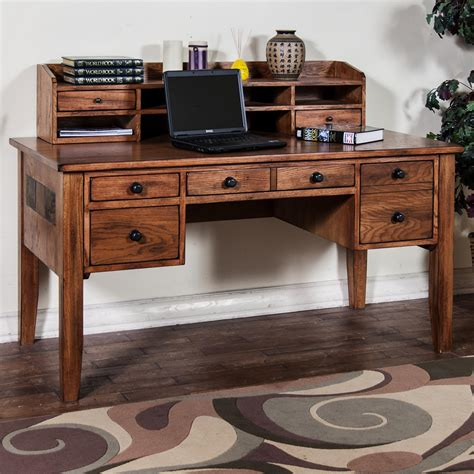 writing desk hutch writing desk with keyboard drawer hutch by designs