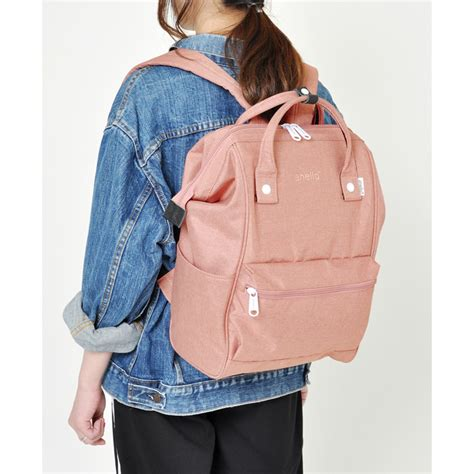 Tas Anello Backpack Small anello tas ransel kanvas frosted small pink jakartanotebook