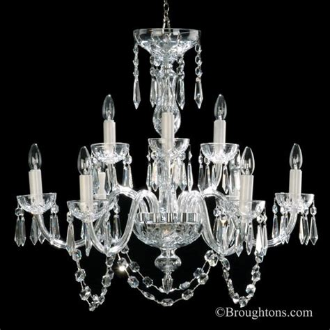 Waterford Lismore Chandelier Waterford Lismore 9 Arm Chandelier Broughtons Of Leicester Ltd