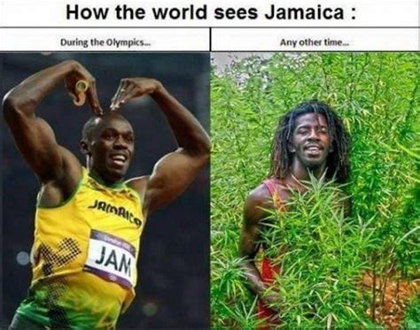 Jamaican Meme - funny how the world sees jamaica picture funny joke meme