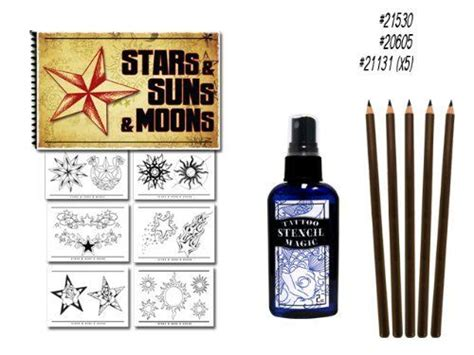 superior tattoo equipment suns and moons flash book stencil