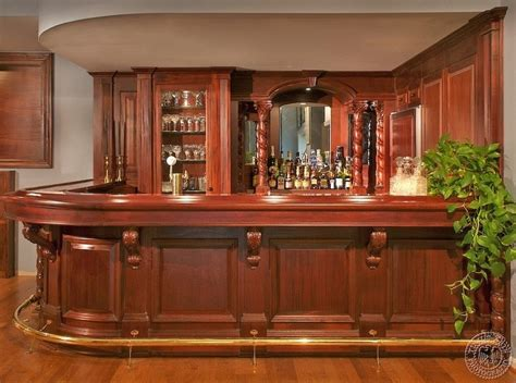 Bar Plans by 20 Of The Most Lavish Wooden Home Bar Designs