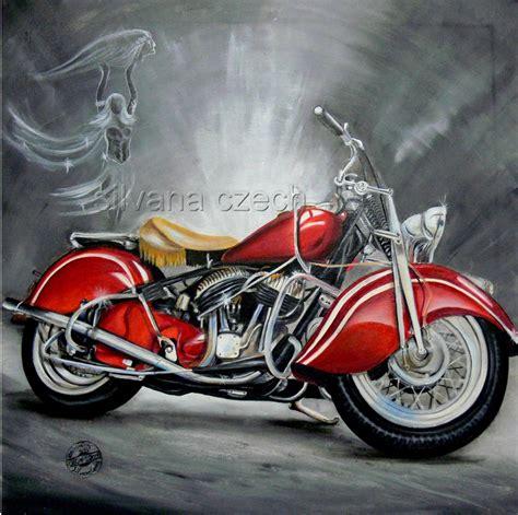 Motorrad Bilder Gemalt by Rote Indian Motorrad 214 Lgem 228 Lde Silvana Chrom