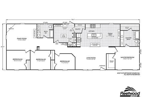 westfield floor plan westfield classic 28764f by fleetwood homes douglas