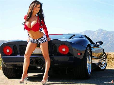 Hot car girl models
